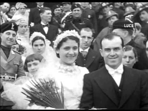 129 coppie celebrano il matrimonio - Cerignola, 1937