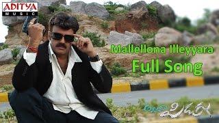 Mallellona Illeyyara - Allari Pidugu