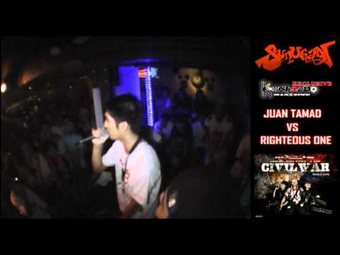 SUNUGAN- Juan Tamad Vs Righteous One - BATTLE ROYAL @ Ka Freddies
