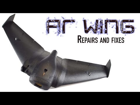 Sonicmodell AR Wing - Repairs and fixes #04 - UCms-KKixtuuCecHgV2Pvueg