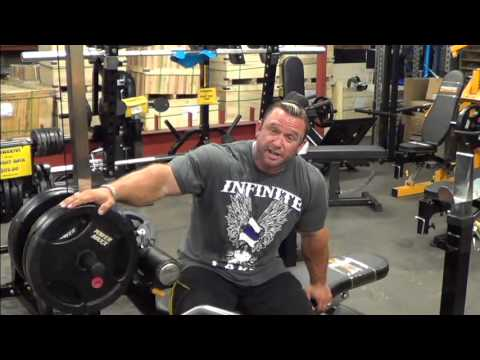 Lee Priest Talks Home Weight Training
