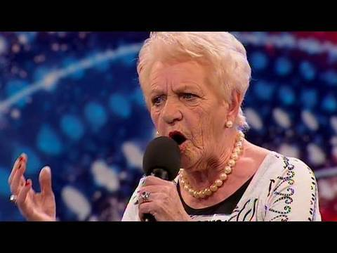 Janey Cutler - Britain's Got Talent 2010 - Auditions Week 4