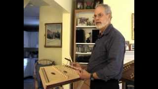 Timothy Seaman Demonstrates Large & Smaller Hammered Dulcimers