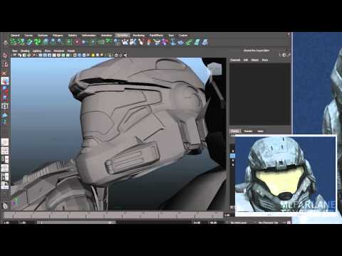 Making of a Halo Figure - Intro & 3D Models (1 of 3)