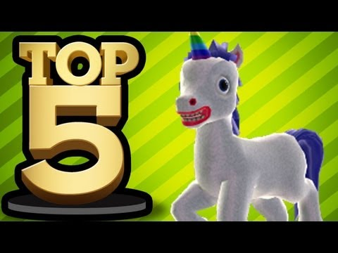 TOP 5  MOST HILARIOUS VIDEO GAME WEAPONS