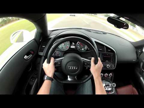 Audi R8 POV Drive