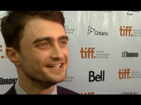 Daniel Radcliffe talks about gay sex scene