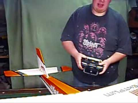 how to build an ARF PART 2  rc airplane almost ready to fly 40 60 90 size trainer all the basics
