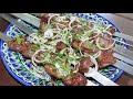 Фрагмент с конца видео Классический сочный шашлык из баранины.
