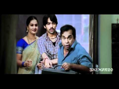 Ready Comedy - Ram becomes Brahmi's assistant (Genelia D'Souza)