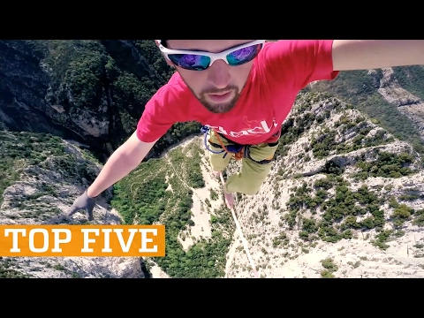 TOP FIVE: Basketball, Trials & Trick Shots | PEOPLE ARE AWESOME 2017 - UCIJ0lLcABPdYGp7pRMGccAQ
