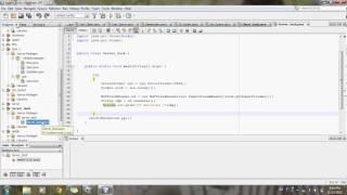 Client Server Program in Java Using netbeans