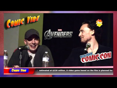 The Avengers Movie Panel (Official) - New York Comic Con 2011