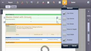 Introducing Report Designer for iPad 2 and Previewing in PDF, HTML - Stimulsoft Reports