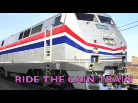 cain train: Herman Cain Campaign Video