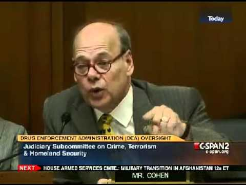 Rep. Steve Cohen (D.TN) Grills Michele Leonhart on the Dangers of Medical Marijuana