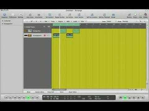 Logic Studio Tutorial (Beginner) The Arpeggiator