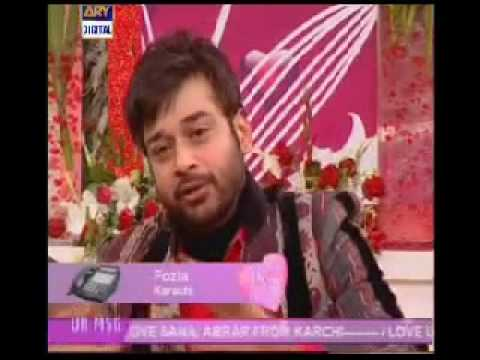 Faisal Qureshi & Sahir Lodhi ,Rambo With Wife in Good Morning Pakistan