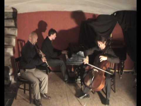 Virgenes del Sol. Peruvian music series. Kinsa Trio (clarinet, cello & piano)