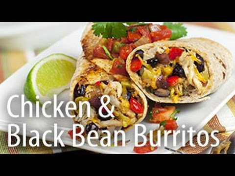 Inspired Cooking presents: Chicken & Black Bean Burrito - UCMDULHz9Iw7XI78cTHp-eSg