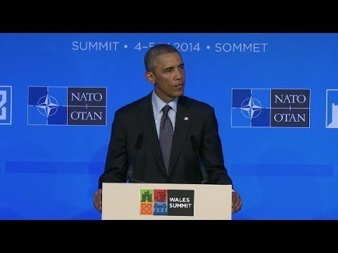 Obama: U.S. skeptical of (Ukraine) cease-fire  9/5/14
