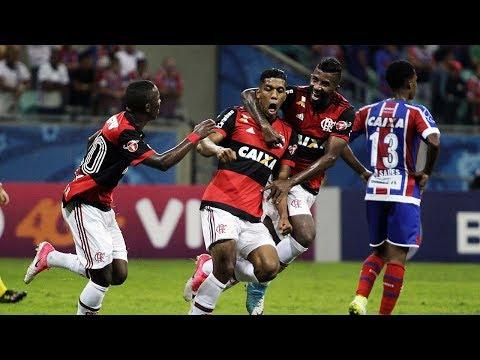 Veja o gol de Bahia 0 x 1 Flamengo