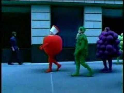 Fruit of the Loom Commercial (The Fruit Guys - Blue)