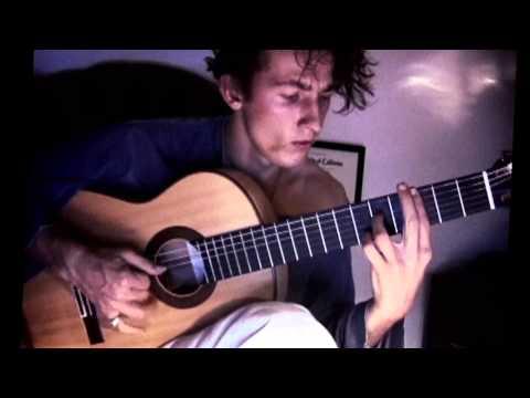Tao Ruspoli flamenco guitar SEVILLANAS with dropped D