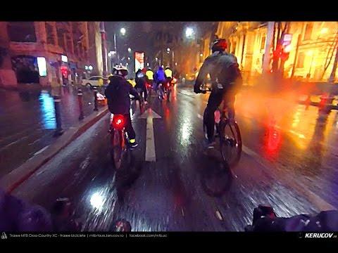 VIDEOCLIP Ora Pamantului 2016, pe biciclete in Bucuresti