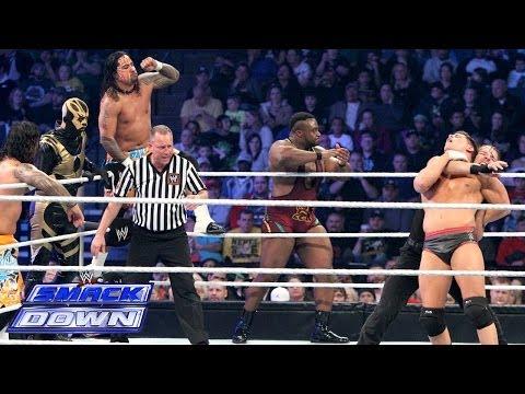 10-Man Tag Team Match: SmackDown, Jan. 24, 2014