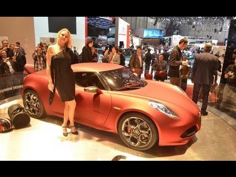 Alfa Romeo 4C Concept @ 2011 Geneva Auto Show - Car and Driver
