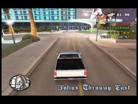 GTA:San Andreas: 84 Cop Wheels (PC)