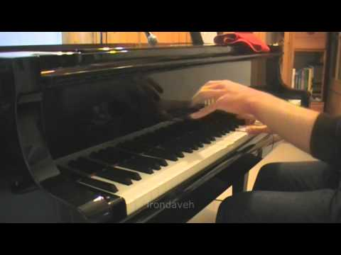 Iron Maiden - Infinite Dreams (piano)