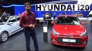 Paryż 2014 - prezentacja Hyundaia i20