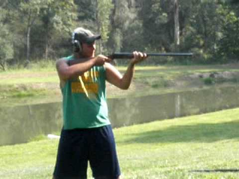 12 gauge Double Barrel shotgun gone wrong..... HILARIOUS !