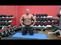 Фрагмент с начала видео Упражнение планка / Фитнес Тренер - Ярослав Брин / Мотивация для похудения