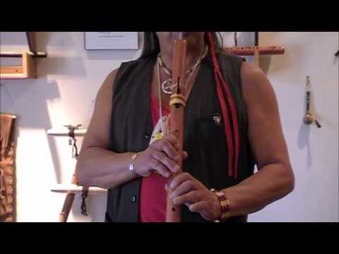 Learning the Native Flute - Lesson Four - Slide with Fluttering