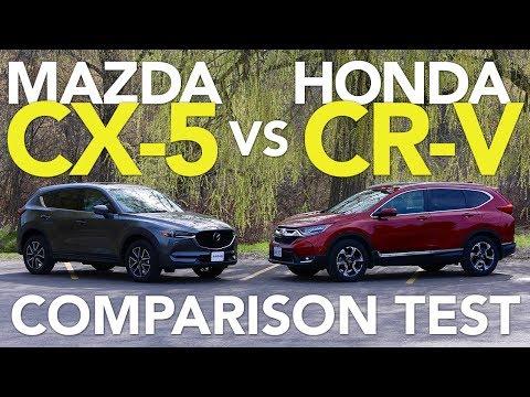 2017 Mazda CX-5 vs 2017 Honda CR-V Comparison Test - UCV1nIfOSlGhELGvQkr8SUGQ