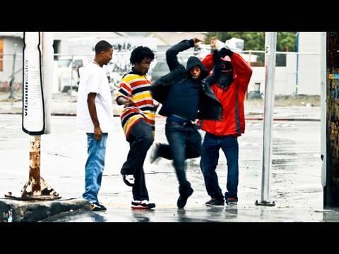 TURF FEINZ RIP RichD YAK FILMS DANCING in the RAIN DANSE SOUS LA PLUIE HIPHOP STREET DANCE Oakland