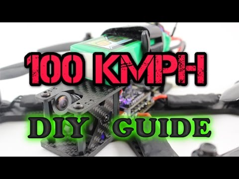 How to Build 100kmph FPV RACING DRONE - Full Video guide 5S DIY - UC3ioIOr3tH6Yz8qzr418R-g