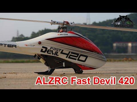 ALZRC Fast Devil 420 GoesFull Throttle 3D Flight - UCsFctXdFnbeoKpLefdEloEQ