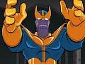 Фрагмент с начала видео - Thanos - Evolution in Cartoons and Films