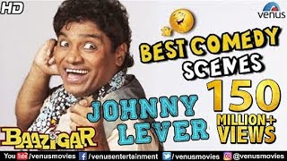 Johnny Lever - Best Comedy Scenes  Hindi Movies  Bollywood Comedy Movies  Baazigar Comedy Scenes