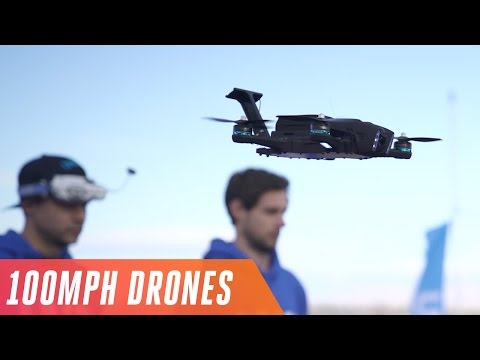 Racing drones at 100 MPH in the Las Vegas Drone Rodeo - UCddiUEpeqJcYeBxX1IVBKvQ
