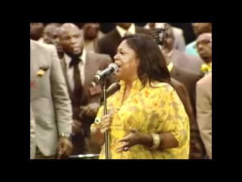 "AIM 2011 COGIC Mass Choir feat. Kim Burrell ""God Can Do Anything but Fail"""