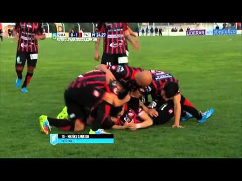 Con gol de Garrido, Patronato gana en Tandil