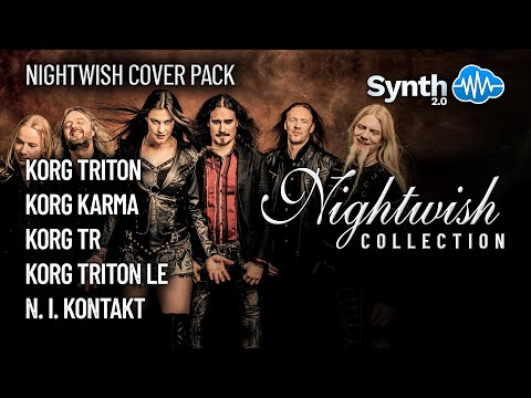 S4K Night Wish Cover Pack N2 - Tuomas Holopainen pack on Korg X50 TR LE