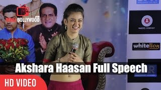 Akshara Haasan Full Speech   Laali Ki Shaadi Mein Laddoo Deewana Trailer Launch