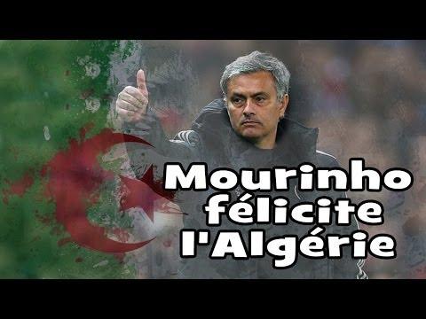 José Mourinho félicite l'Algérie