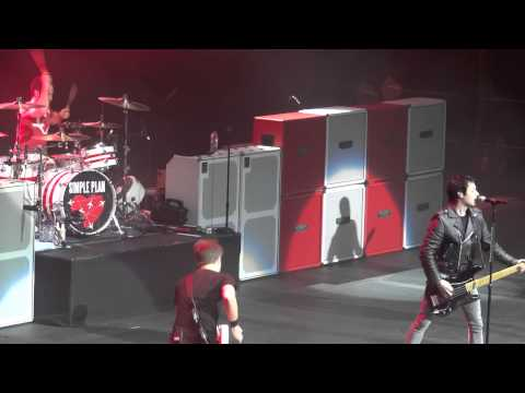 Simple Plan Shut Up Live Montreal 2012 HD 1080P